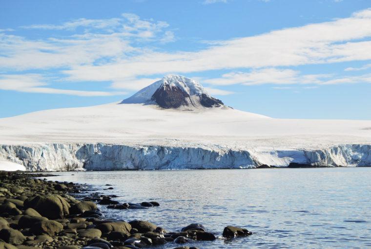 Antártida glaciar